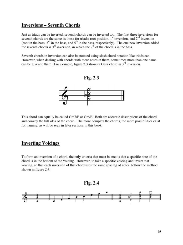 Ch 2 Excerpt Chord Music Harmony