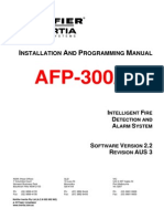 Afp-400 Inst Prog Manual