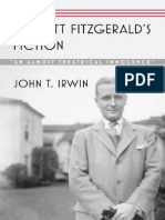 John T. Irwin_F. Scott Fitzgerald's Fiction. An Almost Theatrical Innocence