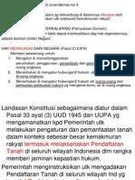 Dasar-dasar Pendaftaran Tanah