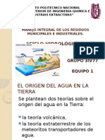 Ciclo Del Agua Ing. Ambiental