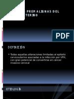 Lesiones Premalignas Del Cuello Uterino