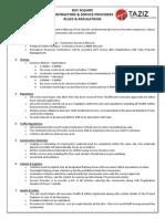 Contractor Rules Regulations BS
