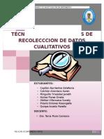 TÉCNICAS E INSTRUMENTOS DE RECOLECCIÓN DE DATOS CUALITATIVOS - sugerencias.docx