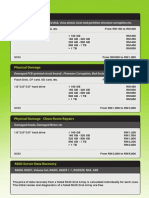 Drive Recovery Pricing