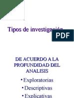 6 Tipo de Investigacion del analisis cientifico