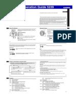 Manual Casio Qw5239
