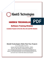 Matlab 2015 Project Titles List