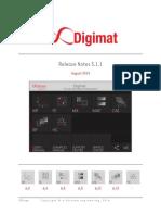 Digimat 511 Releasenotes