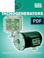 WEG Tachogenerator Manual English