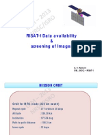 NRSC RISAT-1 Data Availability