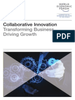 WEF Collaborative Innovation Report 2015