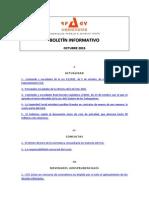 Boletín Informativo RP&GY Abogados - Octubre de 2015