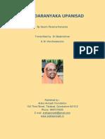 Brihadaranyaka Upanisad Swami Paramarthananda