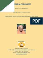 Manisha Pancakam Swami Paramarthananda