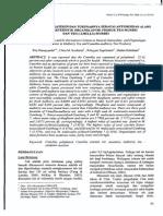 Studi Kandungan Katekin Dan Turunannya Sebagai Antioksidan Alami Serta Karakteristik Organoleptik Produk Teh Murbei Dan Teh Camellia-murbei