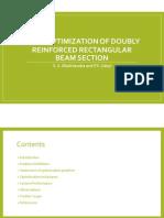 Reinforced Concrete Beam Optimimization
