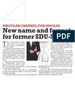 New name and format for former SDU-SDS