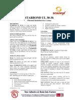 STARBOND UL-30-36 Waterproofing Coat