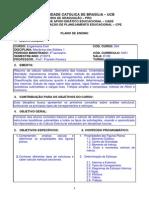 Teste I 2_2015 Turma GP354M0007