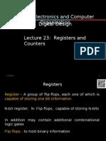 50616de0ba7fc4 Digital Electronics The Flip Flop. Lecture 23.ppt