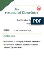 Portafolio Profesional Electronico