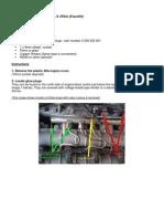 Alfa 147 1.9 JTD - Replacing Glow Plugs