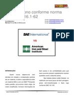 Aços Carbonos Conforme Normas SAE e AISI