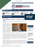 2015 10 26 | Kongnews.it | Corso Crespi