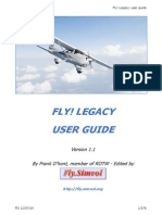 Manual del FlyLegacy en Ingles
