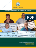 WA Lottery Financial Report