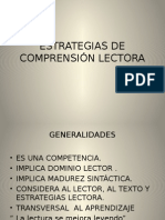 Estrategias de Comprension Lectora