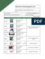 Yi Yikang-Health Products Catalogue