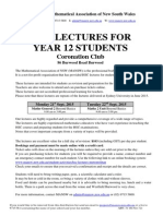 Mansw Hsc Lectures Coro Club 2015 Fax Email 1