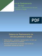 Sistema de Rastreamento on Line SRL