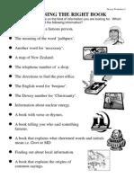 Dewey Worksheet 5
