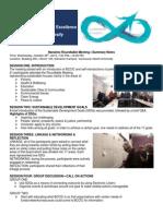 Nanaimo Roundtable Meeting Notes
