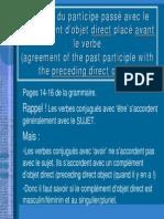 Accord Du Participe Passé.