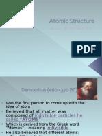 atomic structure history dalton-bohr