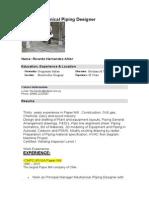 CV-Mechanical Piping Designer PDMS