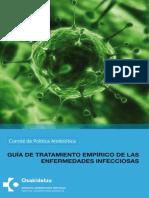 Guia de tratamiento de Enfermedades Infecciosas
