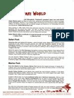 Safari World Factsheet082010