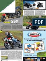 Yamaha XJ6 Ed 98