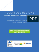 Livre bleu régions Alsace Lorraine Champagne Ardenne