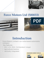 Force Motors Ltd (500033)