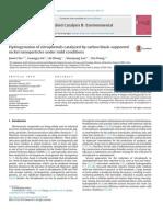Hydrogenation of nitrophenols