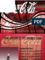 The Launch of New Coke New