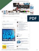 (2) UPP_ Pacificação Ou Militarização_ Relatos e Análise Crítica Coletiva