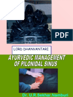 Ayurvedic Management of Pilonidal Sinus2
