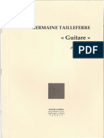 Germ Taille Ferre Guitare